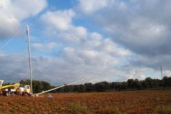 Falcone per pali tubolari Nexgen da 40 e 50 metri