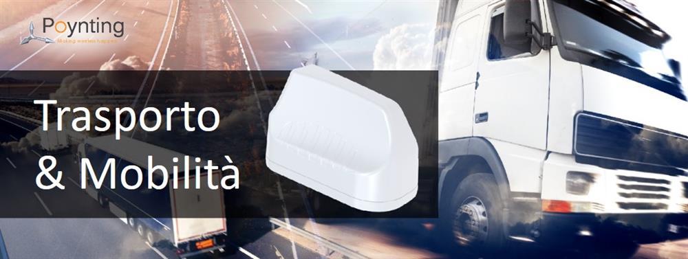 Antenne idonee ad Autobus, camion e mezzi in movimento