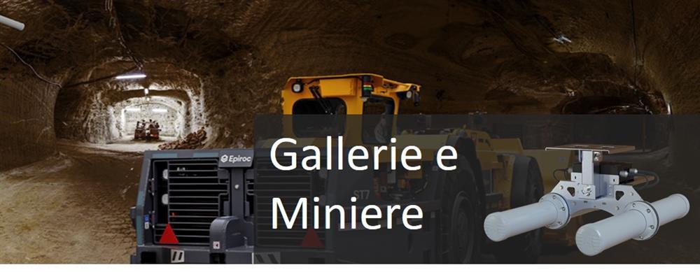 La propagazione radio in galleria richiede antenne specializzate o in miniera