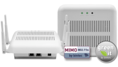 W2003n(-ext)  .11n access point<br>con due moduli radio simultanei